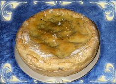 Pizza ripiena ai Carciofi - Pizza rellena con alcachofas - Stuffed pizza with artichokes