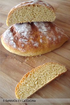 pan de harina de garbanzo