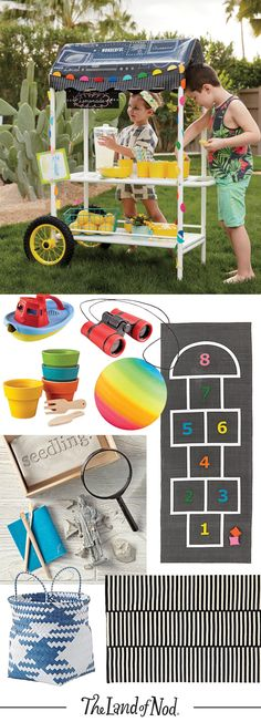 Bring the beach to your backyard with a sturdy kids' sandbox and water table combination.