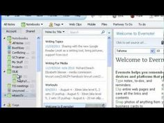 Evernote for teachers - tips on how to use this and link to live binder on Evernote