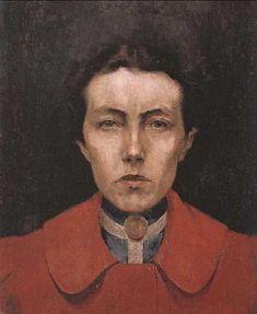 Aurélia de Sousa (Portuguese, 1866-1922) - Self portrait (c. 1900)