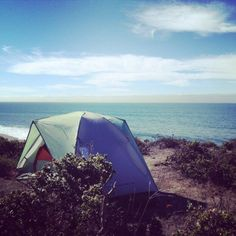 12 Spectacular Spots In Northern California Where You Can Camp Right On The Beach Camping Places, Camping Spots, Camping Guide, Camping List, Camping Checklist, Joshua Tree National Park, Yosemite National Park, Sunset State Beach, California Beach Camping