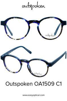 OUTSPOKEN OA1509 C1 Glasses Frames, Eyewear, Easy, Design, Style, Fotografia, Swag, Eyeglasses