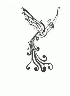 23 Best Simple Phoenix Tattoo Designs Images Bird Tattoos Tattoo