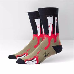 Sock It To Me Mens Crew The Socking Dead Socks