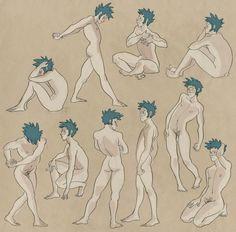 #sketch #man #body