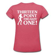 Awesome T-Shirt Shop! Shirts for Half Marathons, Marathons, Running, Lifting, Yoga, and MORE! Multiple colors to choose from PLUS both men's and women's styles for ALL! Simply FANTASTIC!  :)