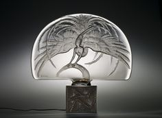 Oiseau de feu (Firebird) by Rene #Lalique,  designed in 1922 | Corning Museum of #Glass