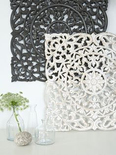 Carved Wall Panels, Design 1 - Nordic House