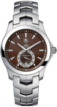 TAG Heuer Men's WJF211C.BA0570 Link Calibre 6 Automatic Watch from TAG Heuer @ TAG-Heuer-Watches .com