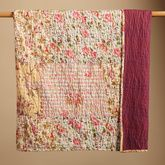 """One of the many """"garden"""" quilts that I collect- this is my favorite and I use it only for myself and Aimee."""