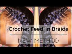Easiest Feed-in Braids? | New Method | Crochet [Video]  Read the article here - http://blackhairinformation.com/video-gallery/easiest-feed-braids-new-method-crochet-video/