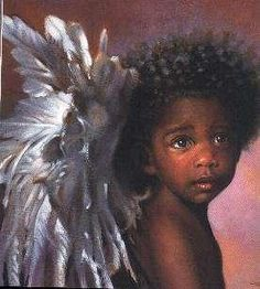 Angels on Pinterest | Angel Babies, Black Angels and Figurine