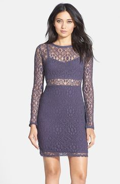 Black Swan 'Harlow' Lace Body-Con Dress available at #Nordstrom