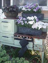 Wish I had my mawmaw Polk's old oven.