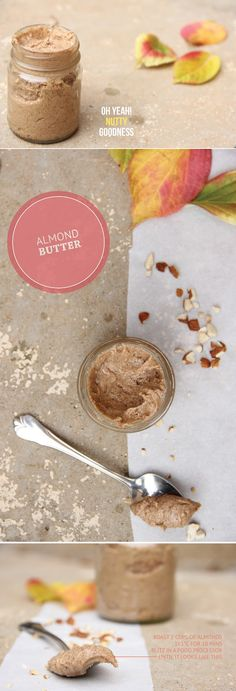 How to make almond butter [with just almonds]. #LEAPsnack