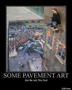 Some Pavement Art
