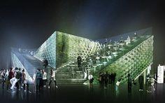 Milan Expo 2015: Latvian Pavilion Proposal by United Riga Architects
