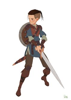 "ArtStation - personal project - Robin Hood2015. ""Will"", Hong SoonSang"
