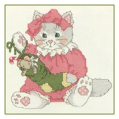 Calico KittensTM        Free Chart - My Stocking Is Full