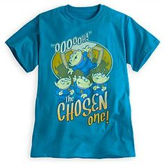 Disney Aliens Tee for Adults - Toy Story | Disney StoreAliens Tee for Adults - Toy Story - Prove that you are ''The Chosen One'' in this cosmic all-cotton tee featuring your favorite Toy Story Aliens, now beaming brightly from Tomorrowlands coast-to-coast.