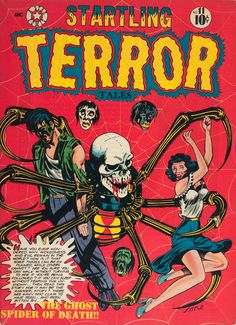 Sell My Comic Books presents the 60 best horror comic books by value. Find out the surprising truth about horror comics. Vintage Comic Books, Vintage Comics, Comic Books Art, Comic Art, Vintage Magazines, Creepy Comics, Horror Comics, Horror Art, Book Cover Art