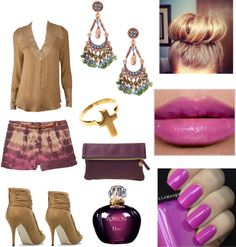 """""""Too much going on...But still cute :)"""" by threadinducedeuphoria on Polyvore"""