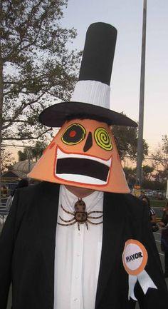 Mayor From Nightmare Before Christmas