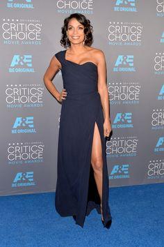Rosario Dawson in Vivienne Westwood @ 2015 Critics Choice Awards