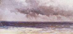 Ferdynand Ruszczyc. Morze i chmury