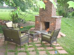 3 Part Series On Building An Outdoor Fireplace That This DIY Googler (no  Skills/