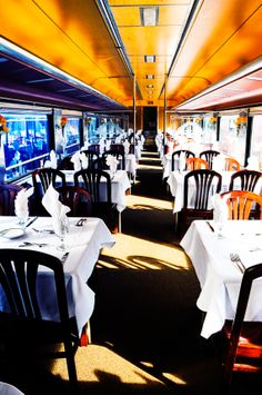 Ready to go... #cincinnati #dinner #train #railway #travel #dining