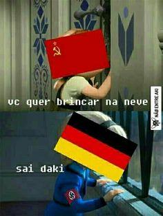 @gildaesfirrajr poxa alemanha .... Very Funny Memes, A Funny, Dankest Memes, Jokes, History Memes, I Laughed, Haha, Funny Pictures, Geek Stuff
