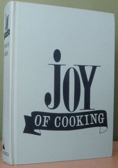 Collecting vintage cookbooks...this is the first. 1964 edition of Joy of Cooking...cover...primo condition.