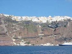 Fira tour with wine tasting and museum Excursions in Santorini  #greece #greekislands #excursion #thingstodo #justbookexcursions #santorini