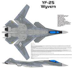 YF-25 Wyvern by bagera3005 on deviantART