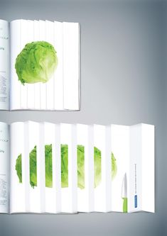 Print ad for kitchen knives. [2200x3111] - See Blend for More!