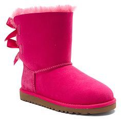 UGG Australia K Bailey Bow found at #OnlineShoes  One day im getting taylor those uggs