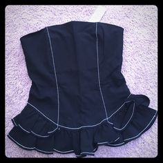 Corset BEBE Beautiful and never worn corset. I gained a lot of weight and never could get to this size again .  Not trades. Smoke free home. bebe Tops Blouses