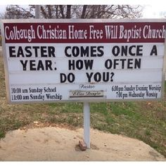 This lulzy church. | 23 Signs That Aren't Doing Their Jobs Right