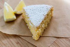 Low FODMAP, Lactose & Gluten free - Lemon and polenta cake