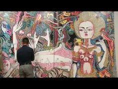 Del Kathryn Barton is a Painter - YouTube