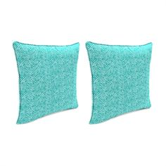 Jordan Manufacturing 9960PK2-3795D Cameron Ocean 18-in Toss Pillow (Set of 2)