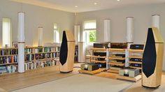 High end audio audiophile listening room Avalon Tesseract
