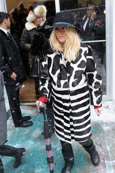New York Fashion Week street style TAW NYC They Are Wearing WWD 2014 NYFW