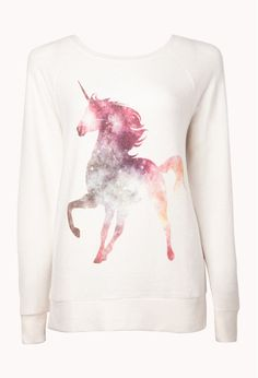 Unicorn sleep sweatshirt???!?!?!  I WANNA SLEEP IN THIS
