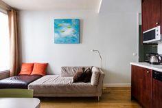 Location studio meublé Rue d'Armaillé, Paris   Ref 4956