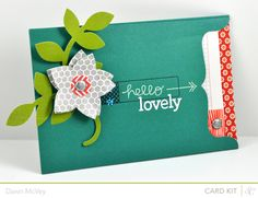hello lovely card #StudioCalico