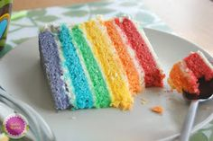 Guta Mamá!: Rainbow Cake o Tarta Arco Iris
