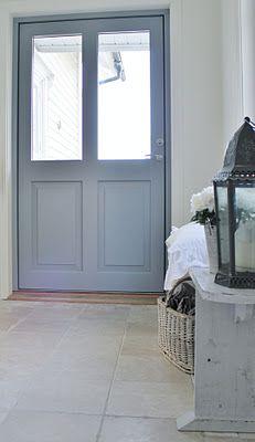 Mias Interiør / New Room Interior / Interiørkonsulent Maria Rasmussen Swedish Style, Scandi Style, Hall Interior, Coastal Living, Ramen, Paint Colors, Color Schemes, Light Blue, Cottage